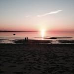 Stroomi beach at sunset in midsummer – Tallinn, Estonia