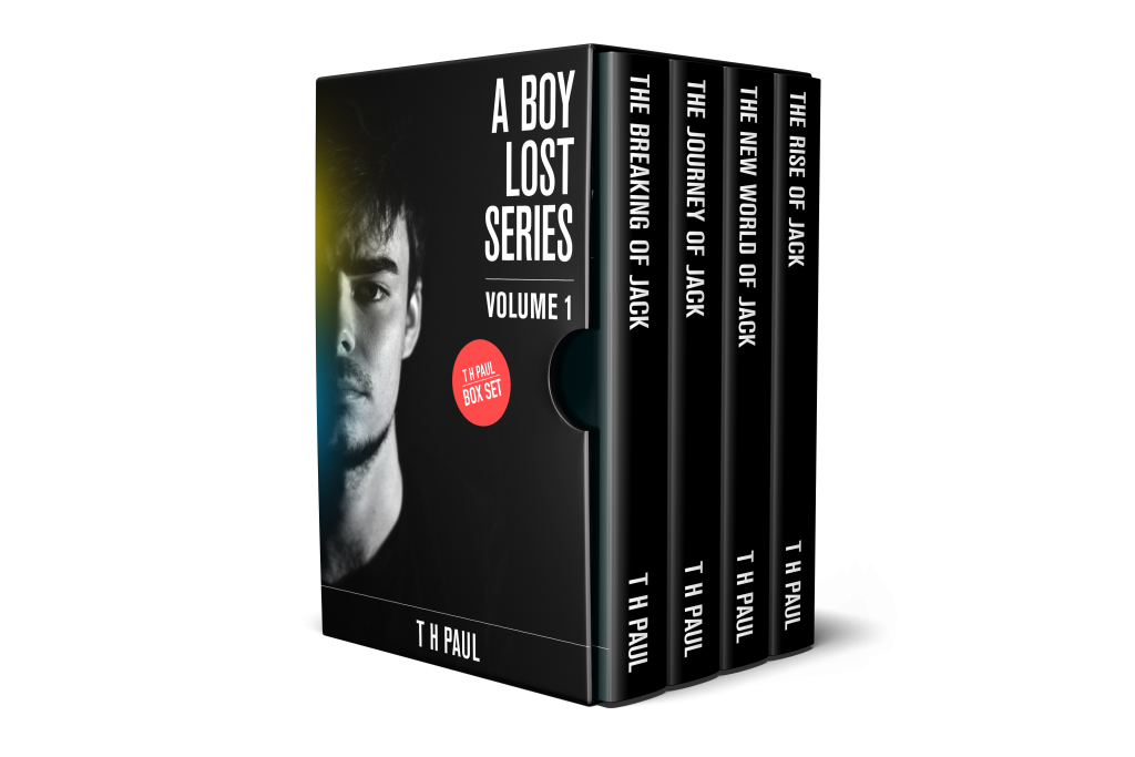 A Boy Lost series boxset Volume 1, containing books 1-4