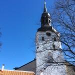 Church Tower in Tallinn Old Town